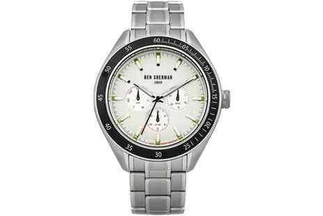 Groupon Goods Global GmbH - Ben Sherman Mens Bracelet Strap Watch With Free Delivery - Save 0%
