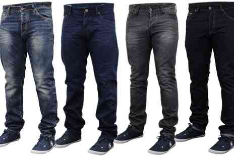 Groupon Goods Global GmbH - Mens Emporio Seven Jeans - Save 0%