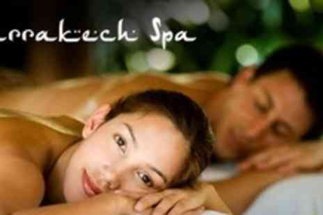 The Marrakech Spa - Moroccan Style Hammam Experience For Two Plus Facial and Spa Access - Save 23%