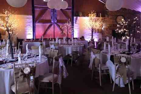 The Wroxeter Hotel - Wedding Package for 50 Guests with Barbecue Meal and Rustic Decorations - Save 47%