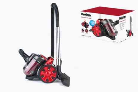 Groupon Goods Global GmbH - Beldray Compact Light 1000W Cylinder Vacuum BEL0456 With Free Delivery - Save 44%