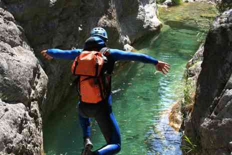 Action Adventure Activities - Up to three hour canyoning experience for one person with Action Adventure Activities - Save 58%