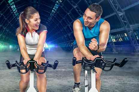 Spin Factory - Five 30 minute spin classes - Save 83%