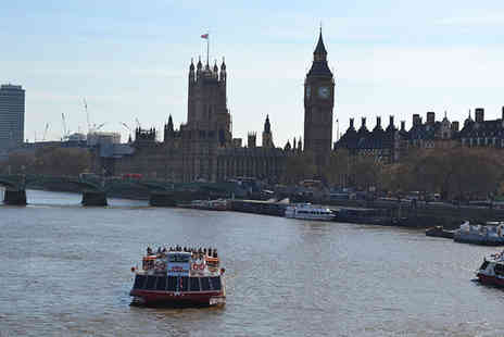 City Cruises - Thames cruise for two including a two course lunch with City Cruises - Save 55%