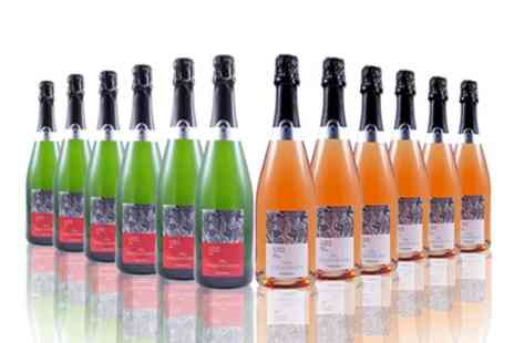 the vineyard club - 12 Bottles of Marques De Requena Brut, Rose or a Mixed Case With Free Delivery - Save 43%