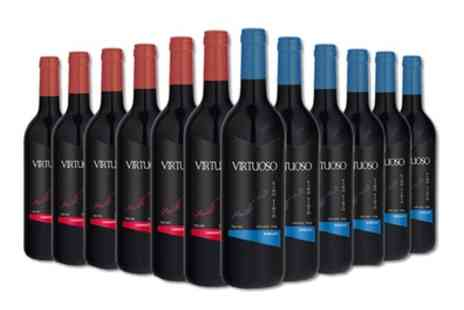 karpe deal - 12 Bottle Case of Merlot and Cabernet Sauvignon with Free Delivery - Save 51%