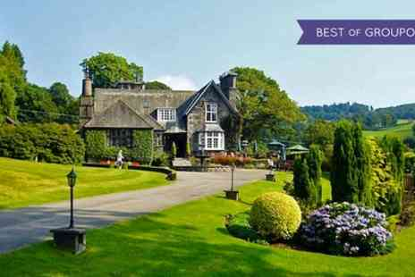 Broadoaks Country House - One Night Stay for Two with Breakfast, 4 Course Dinner, Cream Tea and Spa Access - Save 37%