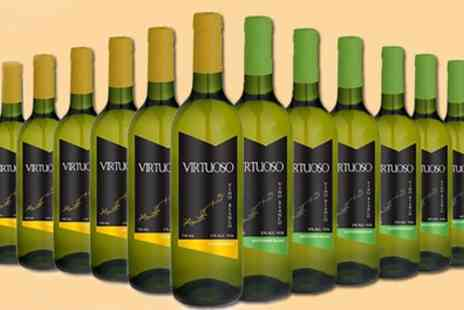 Karpe Deal - 12 Bottle Case of Sauvignon Blanc and Chardonnay Wines With Free Delivery - Save 51%