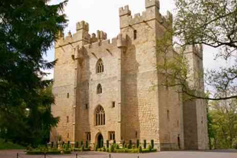 Langley Castle - Northumbrian Castle Stay including Afternoon Tea - Save 43%