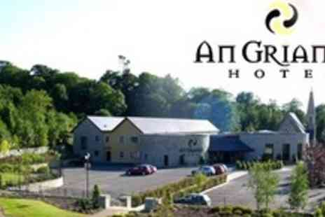 An Grianán Hotel - In County Donegal Two Night Stay For Two With Breakfast - Save 56%