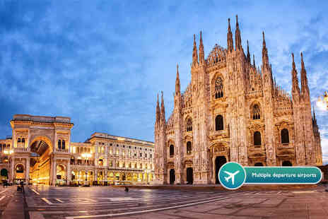 Crystal Travel - Two or three night 4 Star Milan break with flights - Save 47%