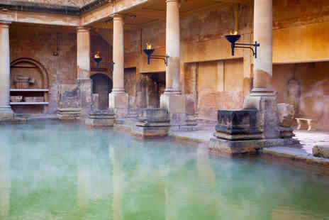 OMGhotels - Overnight Bath stay with breakfast and entrance to the Roman Baths - Save 0%