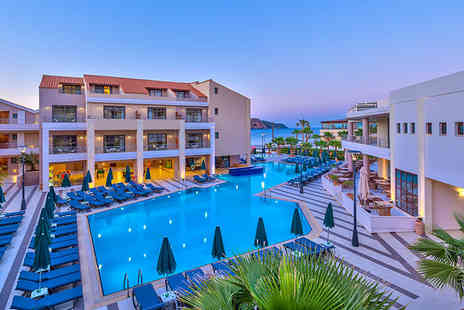 ClearSky Holidays - Three, Five or seven night 5 Star all inclusive Crete break with flights and a view room - Save 37%