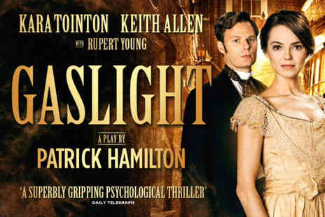 ATG Tickets - Gaslight tickets at Aylesbury Waterside Theatre on 17th and 18th January 2017 - Save 32%