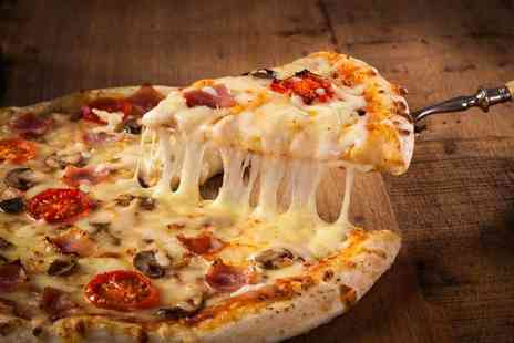 Casa Italia - Pizza, pasta or Calzone dish each for two - Save 50%