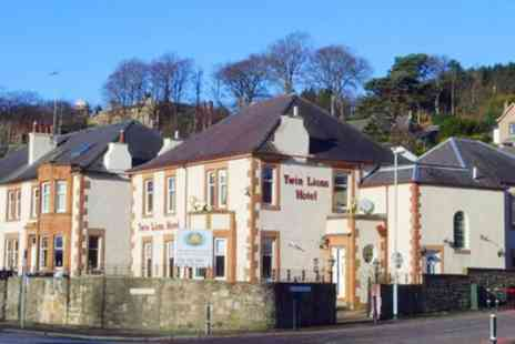 Twin Lions Hotel - One to Three Nights Stay for Two with Breakfast, Wine and Parking - Save 51%