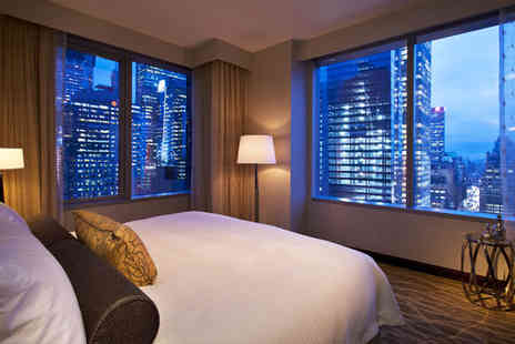 InterContinental New York Times Square - Four Star 4 nights Stay in a Sky Room - Save 70%