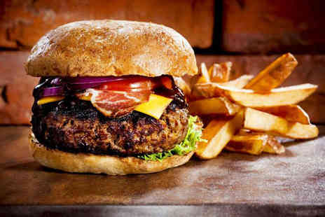 Ad Lib - Gourmet burger and fries for two - Save 52%