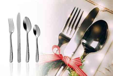 ViVo Technologies - 32 piece cutlery set - Save 71%