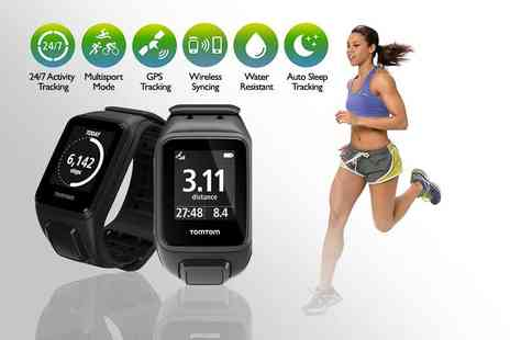 Deals Direct - TomTom GPS fitness watch choose from small or large straps - Save 37%