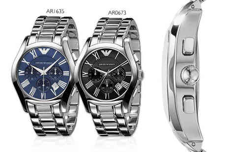 Wristy Business - Mens Armani watch choose from two designs - Save 56%