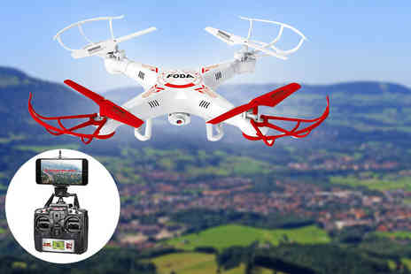 Craze UK - D15 F quadcoptor drone - Save 62%