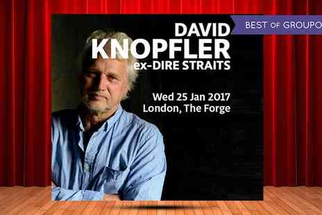 AGMP - David Knopfler on 25 January 2017 - Save 14%