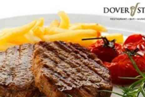 Dover Street - Three Course Meal For Six People With Cocktail and Entertainment - Save 62%