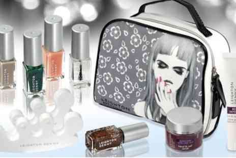 Groupon Goods Global GmbH - Leighton Denny Cosmetic Collection Set - Save 75%