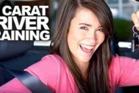 24 Carat Driver Training - Ten Hours of Driving Tuition Including Practical Test - Save 62%