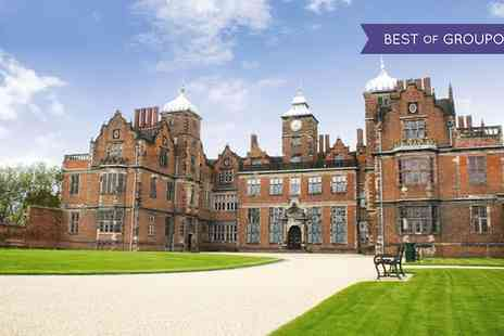 Aston Hall - Cream Tea and Guided Tour - Save 23%
