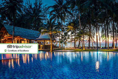 Affordable Luxury Travel -  Seven night Five Star getaway to Khao Lak including breakfast and flights - Save 30%