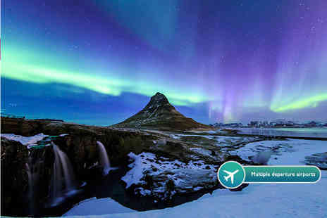 ClearSky Holidays - Two, or Three night Iceland break including flights Save 43%