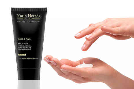 Deals Direct - 50ml bottle of Karin Herzog oxygen hand and nail cream - Save 24%