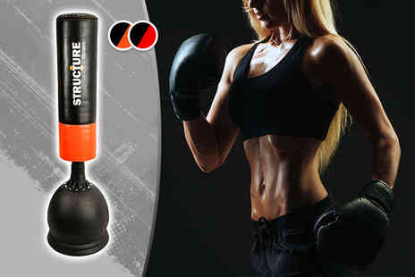 Sashtime - Free standing punch bag choose from two colours - Save 73%