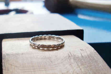 Josephine Tournebize Jewellery - Silver ring making workshop for one - Save 53%