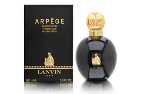 Groupon Goods Global GmbH - Lanvin Arpege Eau de Parfum 100ml Spray With Free Delivery - Save 63%