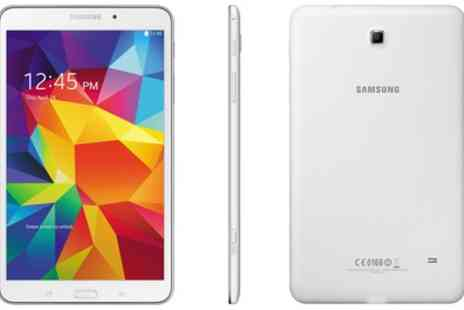 GoldBoxDeals - Certified Refurbished Samsung Galaxy Tab 4 8 inch 16GB with Wi Fi and 4G LTE With Free Delivery - Save 0%