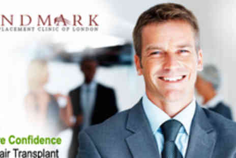 Landmark Lifestyle - Hair Transplant Treatment - Save 64%
