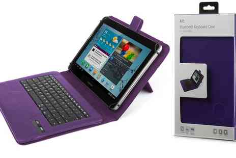 Groupon Goods Global GmbH - Kit Universal Bluetooth Tablet Keyboard with Case - Save 0%