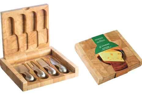 Groupon Goods Global GmbH - Viners Entertaining Four Piece Cheese Knife Set - Save 0%