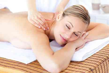 Sky Spa - Back, Neck and Shoulder Massage with Optional Elemis Facial - Save 0%