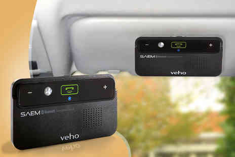 Deals Direct - Veho SAEM S1 in car Bluetooth hands free kit - Save 63%