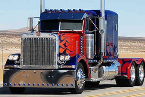 Red Letter Days - Optimus Prime driving experience for one - Save 0%