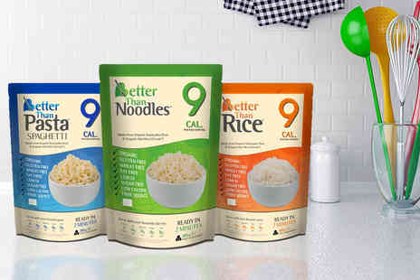 Ultimate Gift Packs - 20 x Better Than range pasta, rice or noodle packs - Save 66%