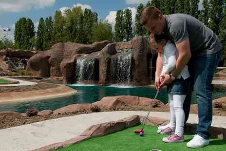 World of Golf - 18 Hole Dragon Quest Adventure Golf For Two Adults or a Family of Four - Save 41%