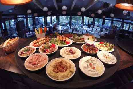 Raphaels - 16 dish meze meal with wine for two or four - Save 38%