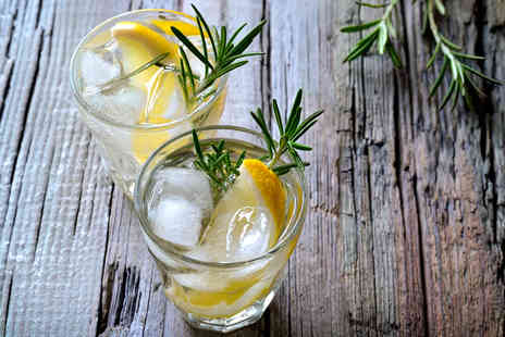 Liquor and All Sorts - Two hour gin tasting experience for one including sandwiches and cakes - Save 24%