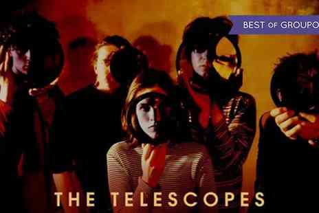 The Telescopes - One general admission ticket to see The Telescopes, Secret Fix and Tommy and Mary on Wednesday 25 January - Save 36%