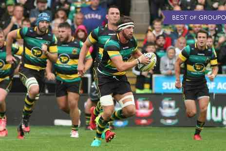 Northampton Saints - One VIP ticket to see Northampton Saints v Scarlets at Franklin's Gardens on Friday 3 February - Save 0%